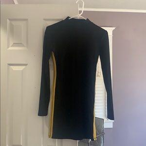 Forever 21 mock neck sporty dress